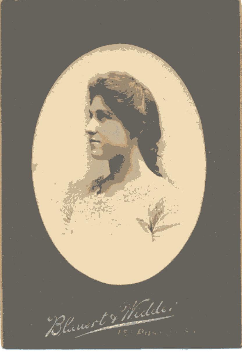 Emma DeBoom in 1902