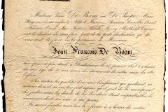 Death-Notice-1848-Jean-Francois-De-Boom