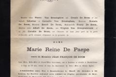 Death-Notice-1881-Marie-Reine-de-Paepe_French-2