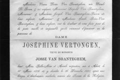 Death-Notice-1883-Josephine-Vertongen-van-Branteghem