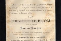 Death-Notice-1887-Ursule-De-Boom-Branteghem