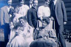 219_Family celebrating Frances'christening