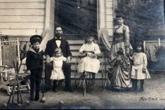 Emma's Family in Napa 1889